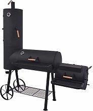 GDSZMML BBQ Charcoal Smoker BBQ Grill Charcoal