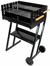 GDSZMML Outdoor Smoker Barbecue Charcoal Portable