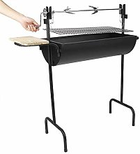 GDSZMML Outdoor Steel Grill Charcoal Grill Outdoor