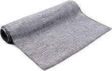 GDXFSM Home Kitchen Dining Table Runners Gray