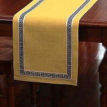 GDXFSM Table Runner Premium Rustic Linen
