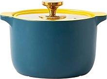GDYJP Casserole Ceramic Saucepan Soup Pot High