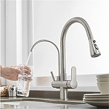 GDYJP Kitchen Faucet, 3 in 1 Water Purifier