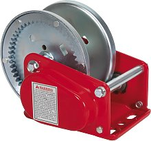 Geared Hand Winch with Brake 900kg Capacity -