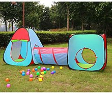GEATA Play Kids Tent Tunnel, Indoor/Outdoor Play