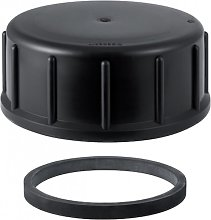 Geberit Plumbing Cover PE Cap for cleaning parts