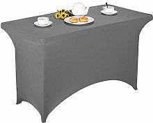 GEBIN Rectangular Stretch Tablecloth, Spandex