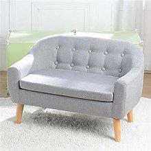 GEEDOOWIN Kids Couch, Children's Double Sofa