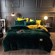 geek cook Bedding 4 piece bed sheet set,Thick milk