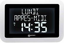 Geemarc VISO15 Radio Clock with Calendar and