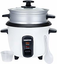 Geepas 0.6L Rice Cooker with Steamer | 350W |