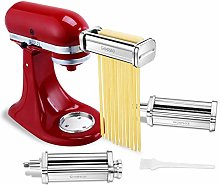 Geesta 3 Piece Pasta Roller and Cutter Attachment