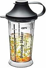 Gefu GF14471 Mix Up Salad Dressing Shaker, Plastic
