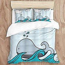GeGe Easy Care 3 Pcs Duvet Cover Set & 2 Pillow