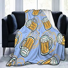 GEHIYPA Comfortable fine flannel blanket,A Of