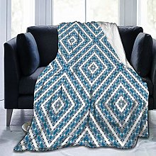 GEHIYPA Comfortable fine flannel blanket,Abstract