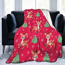 GEHIYPA Comfortable fine flannel blanket,Baby
