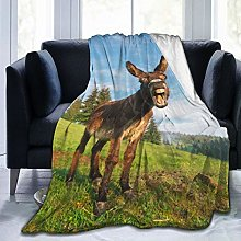 GEHIYPA Comfortable fine flannel blanket,Picture