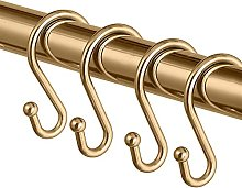 GEIRONV Set of 12 S Shaped Hooks Hangers, Kitchen