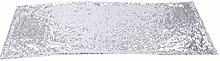 GEIRONV Shining Sequins Table Runners 180× 30cm