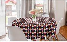 Geise Rhombus Vintage Tablecloth Corrigan Studio