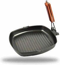 GeKLok Pan 20/24cm BBQ Non-stick Frying Pan,