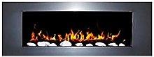 Gel and Ethanol Wall Fireplace White – Elegant