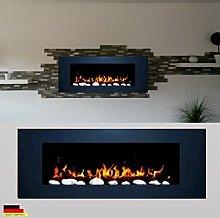 Gel fireplace, ethanol fireplace, wall fireplace,