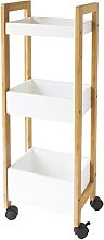 Gelco 709803Nato Serving Trolley with 3Shelves