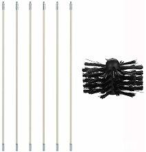 Gelentea Pipe Inner Cleaning Brush Kit 120 inch
