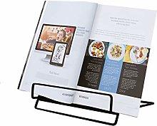 GeLive Adjustable Metal Recipe Holder Cookbook
