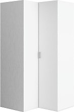 Gemini 2 Door Corner Wardrobe Brayden Studio