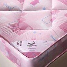 Gemma Pink Spring Kids Mattress - 4ft6 Double (135