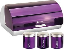 Gems 4 Piece Canister Set SQ Professional Colour: