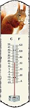 Generic 0503Metal Thermometer White 26.5x