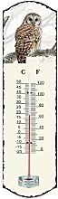 Generic 0504Metal Thermometer White 26.5x