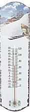 Generic 514Hands Wall Thermometer Tin 26x 7x