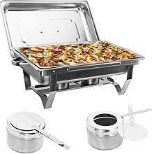 Generic 9L Rectangular Food Warmer Chafing Dish