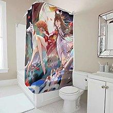 Generic Branded Anime Girl Wolf Shower Curtain