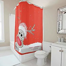 Generic Branded Premium Christmas Shower Curtain