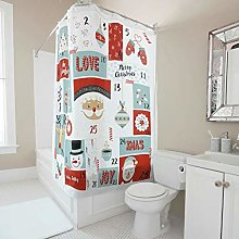 Generic Branded Premium Merry Christmas Shower