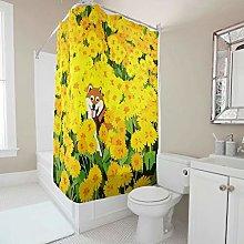 Generic Branded Sunflowers Dog Yellow Shower