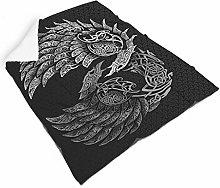 Generic branded Viking Throw Blanket Microfiber
