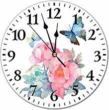 Generic Brands 10 inch PVC Wall Clock Easy