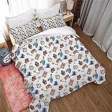 GenericBrands 3-piece bedding Ice cream clock