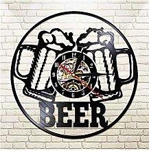 GenericBrands Vintage Record Beer cheers Vinyl