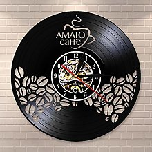 GenericBrands Vintage Record coffee Vinyl Wall