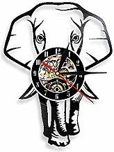 GenericBrands Vintage Record Elephant walking