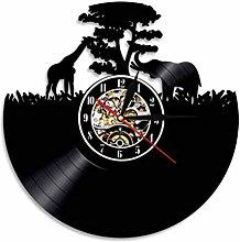GenericBrands Vintage Record Grassland animals