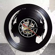 GenericBrands Vintage Record Headphone DJ Vinyl